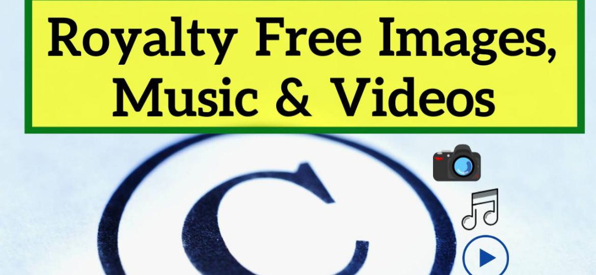 Royalty free images music and videos