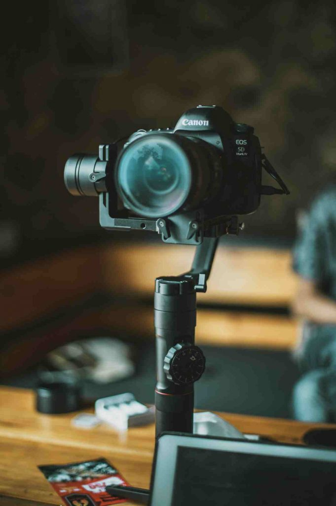 Tripod and Gimbal for Youtube Video Recording