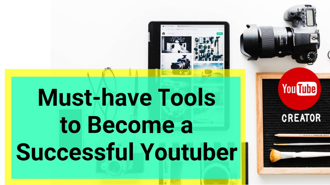 How to start & create a successful youtube channel