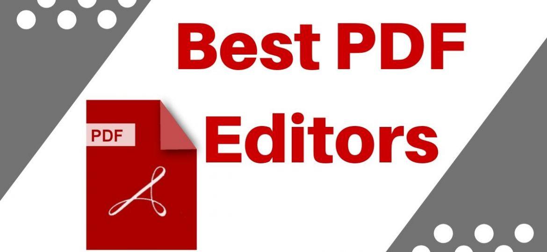 Best PDF editors