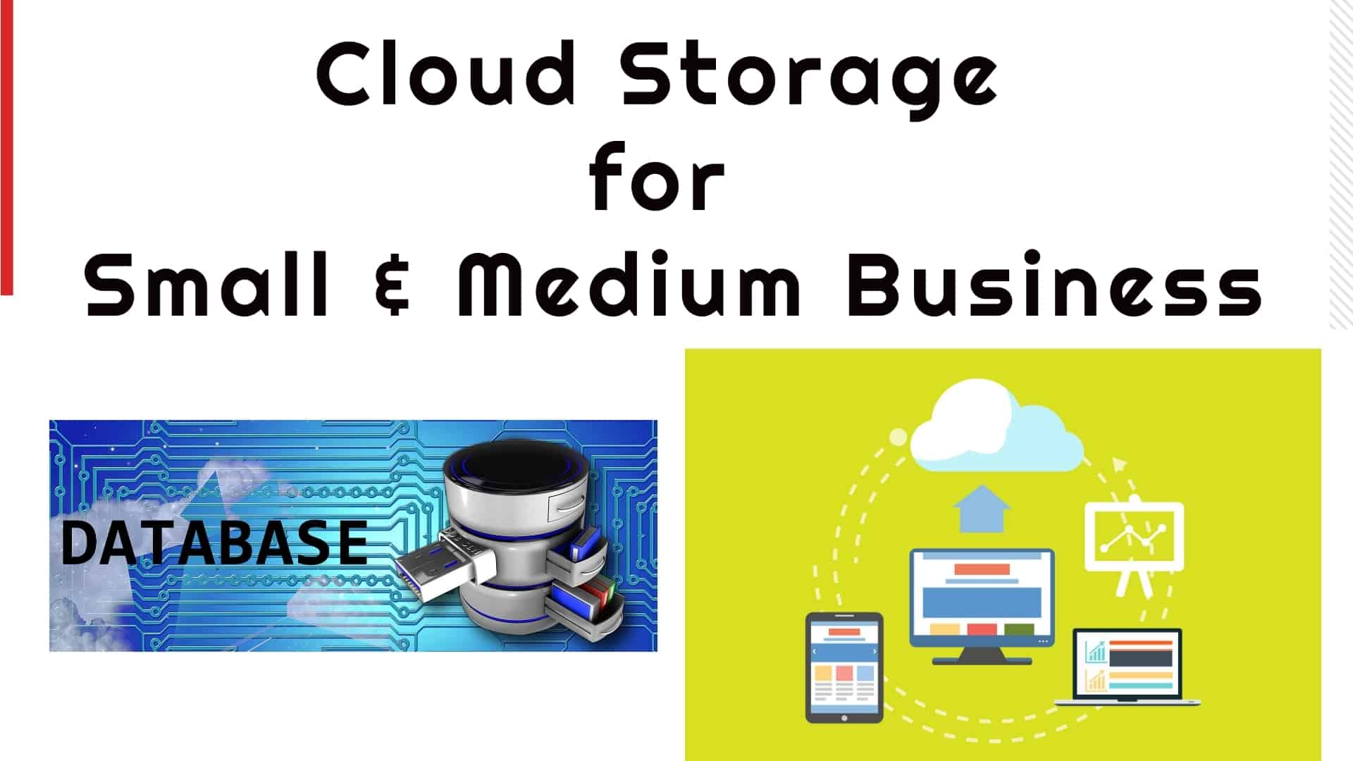 Enterprise Cloud Storage for small & medium business
