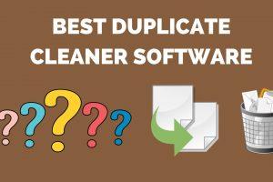 Best duplicate file finder, cleaner & removar