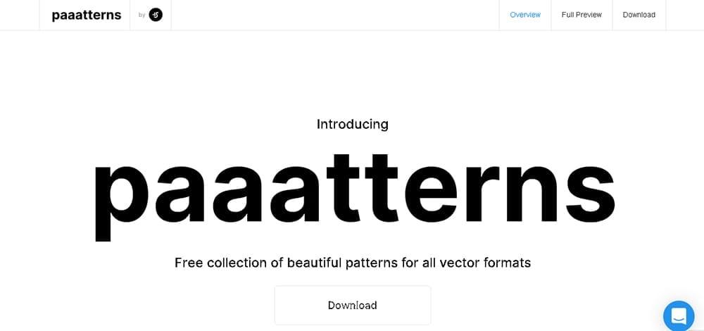 Paaatterns web design resource & tools
