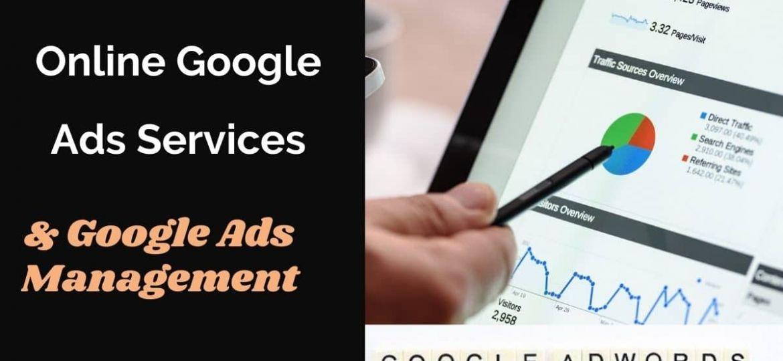 Online Google Ads services & management